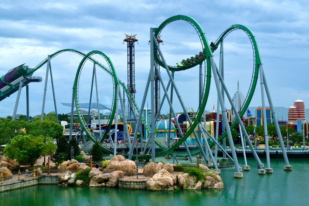 Universal's Islands of Adventure hulk