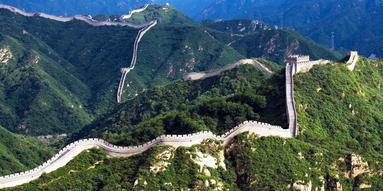 Resultado de imagem para onde fica a muralha da china