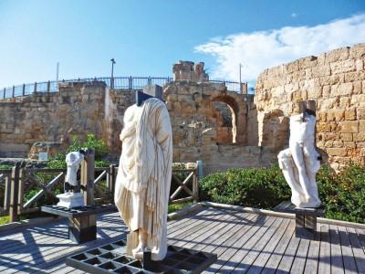 Cesareia foi sede do Império Romano e também capital de Israel. FOTO: ROBERTO MAIA
