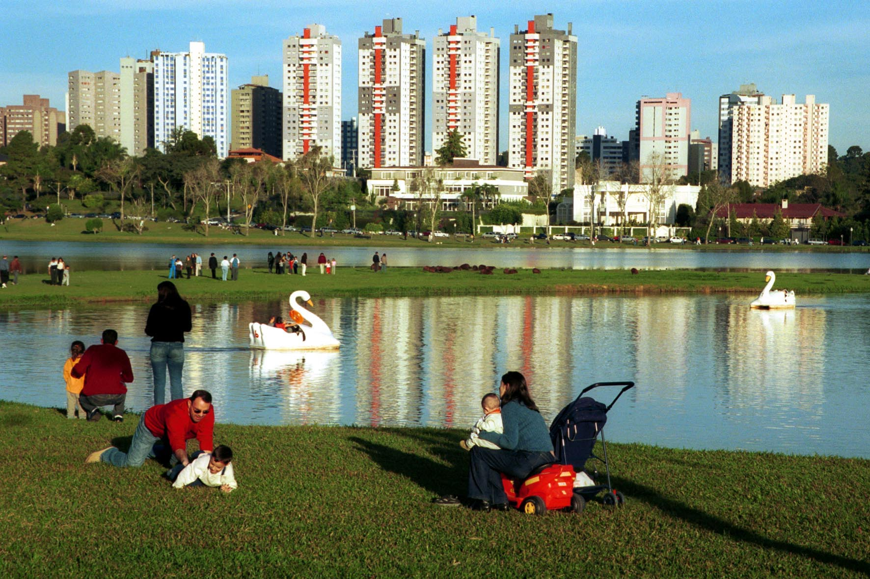 Resultado de imagem para parque barigui curitiba