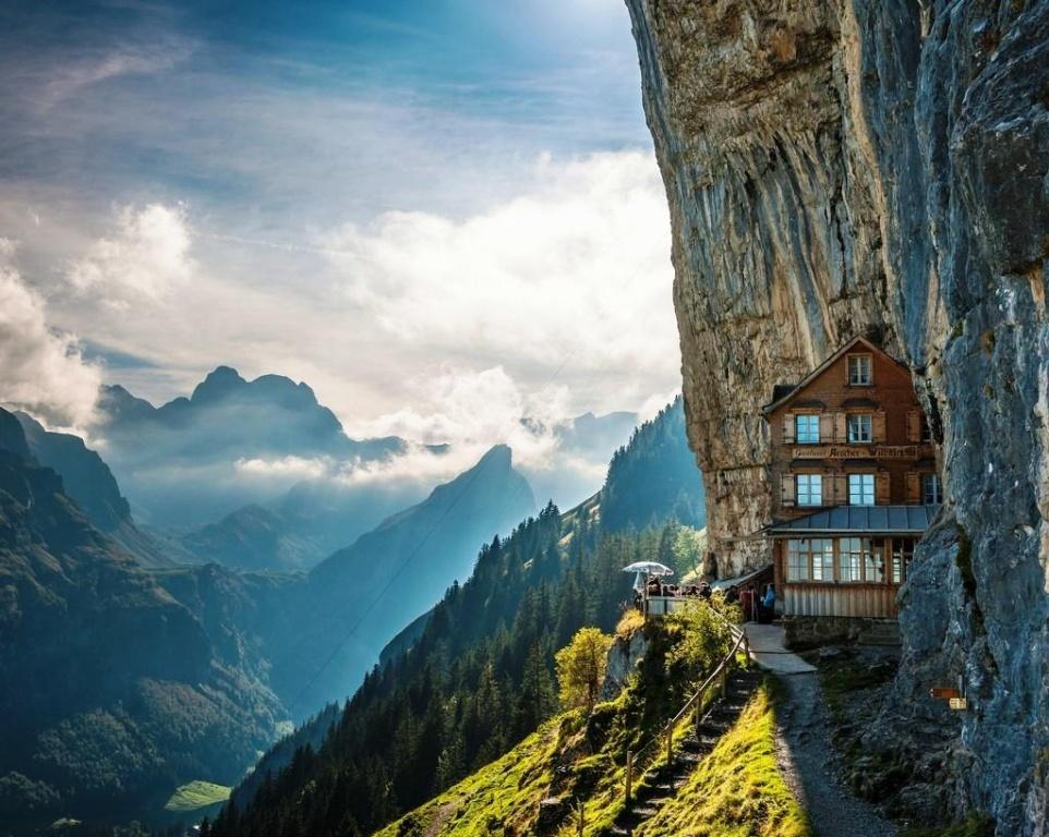 a45bffc99f6 Hotel Berggasthaus Aescher-Wildkirchli – Suiça Hotel Berggasthaus  Aescher-Wildkirchli - Suiça