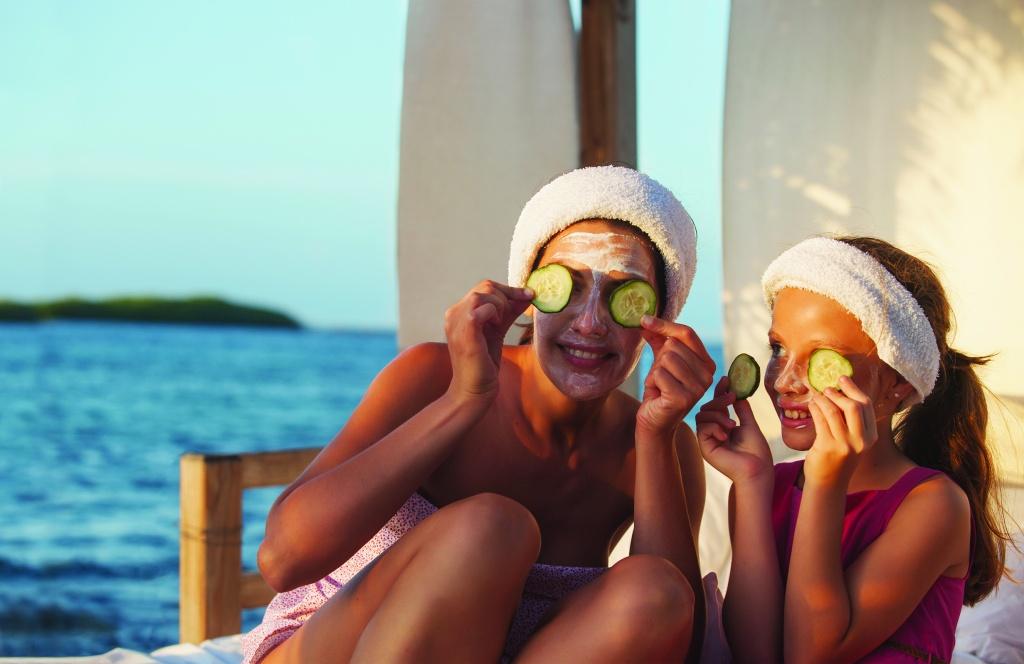 Mae e filha - spa em Aruba_Credito_ATA