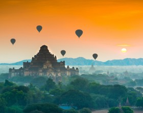 The Temples of Bagan(Pagan), Myanmar
