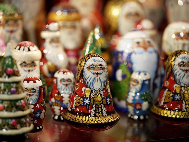 Enfeites de Natal em Praga