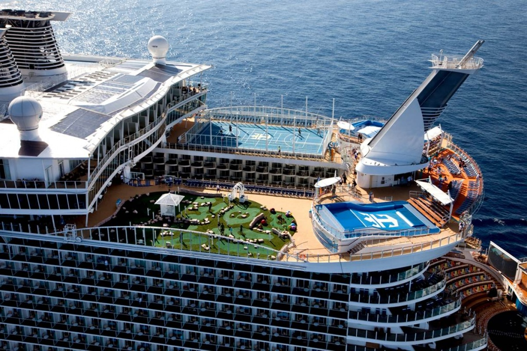 oasis of the seas divulgação royal caribbean