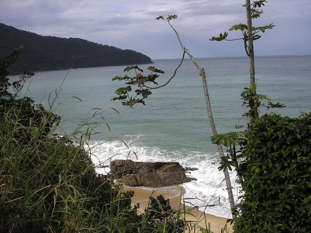 praia preta divulgação praias sp