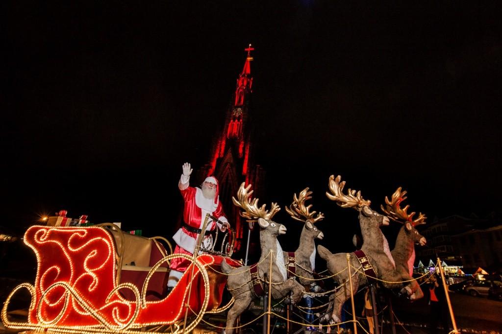 Caravana Coca-Cola no Sonho de Natal - Foto de Sergio Azevedo