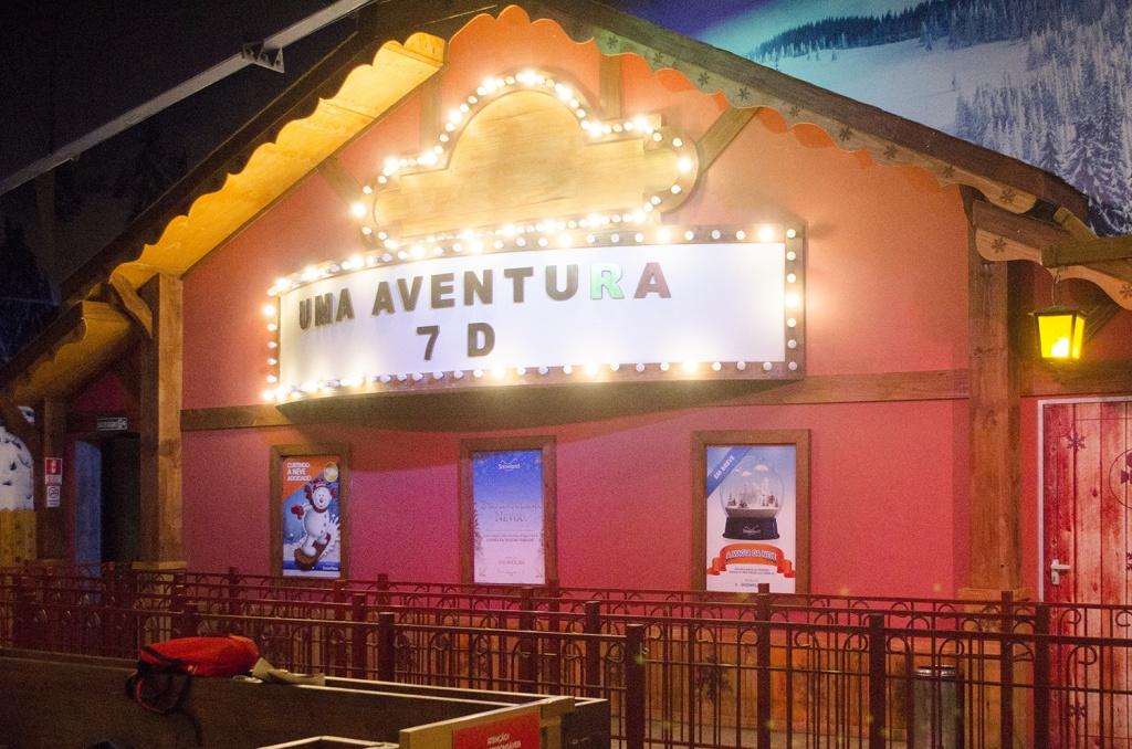 Cinema 7 D - Crédito Divulgação Snowland