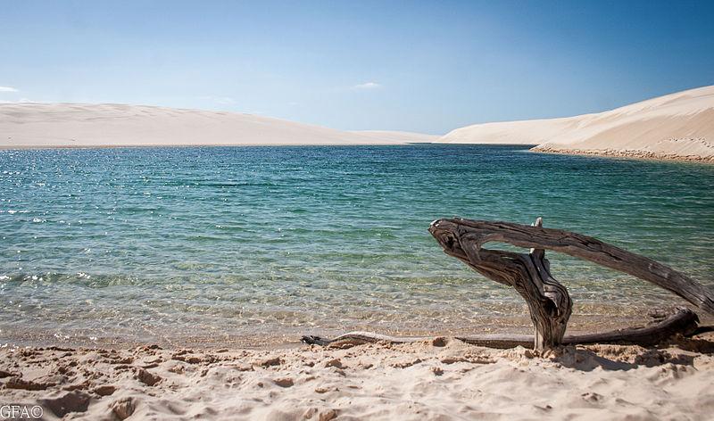 Lagoa_Azul_de_Barreirinhas Geovanne Araujo via Commons Wikimedia