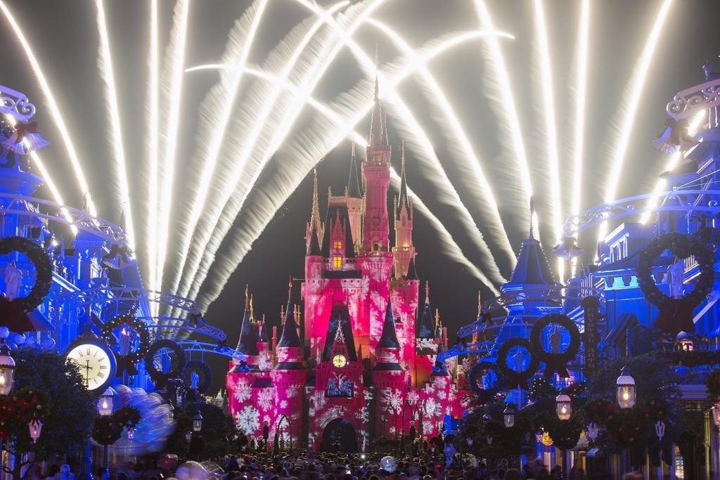 fim de ano em orlando magic kingdomn