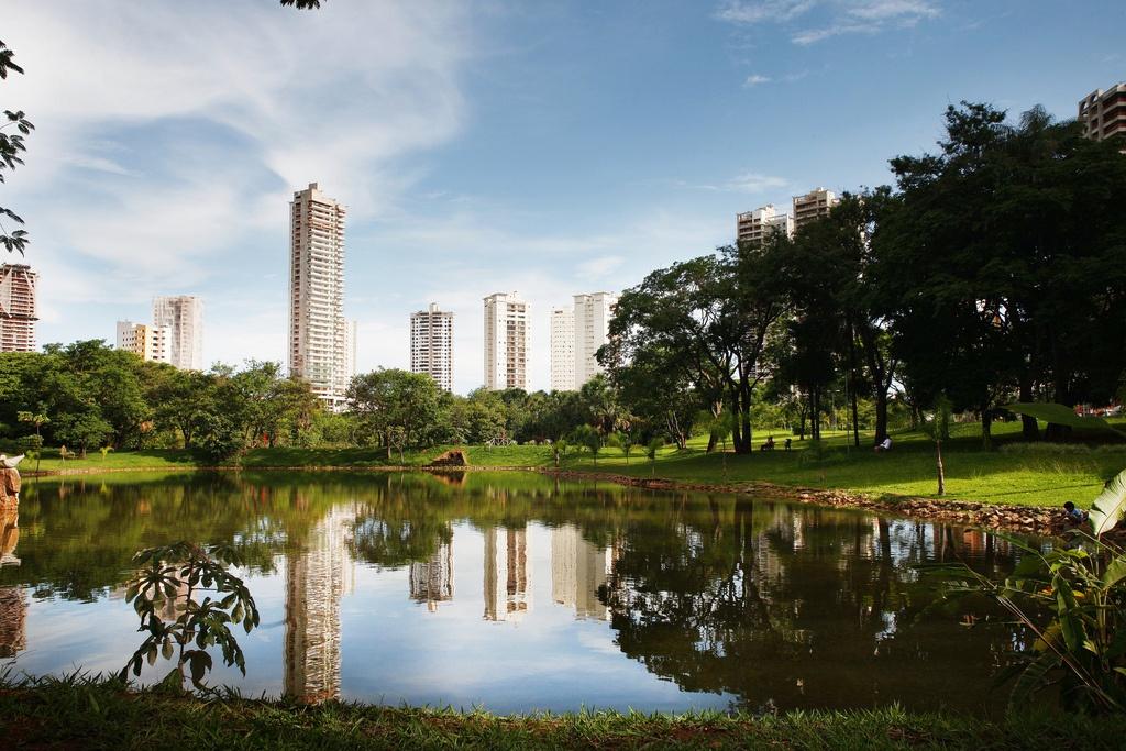 Resultado de imagem para parque flamboyant goias turismo