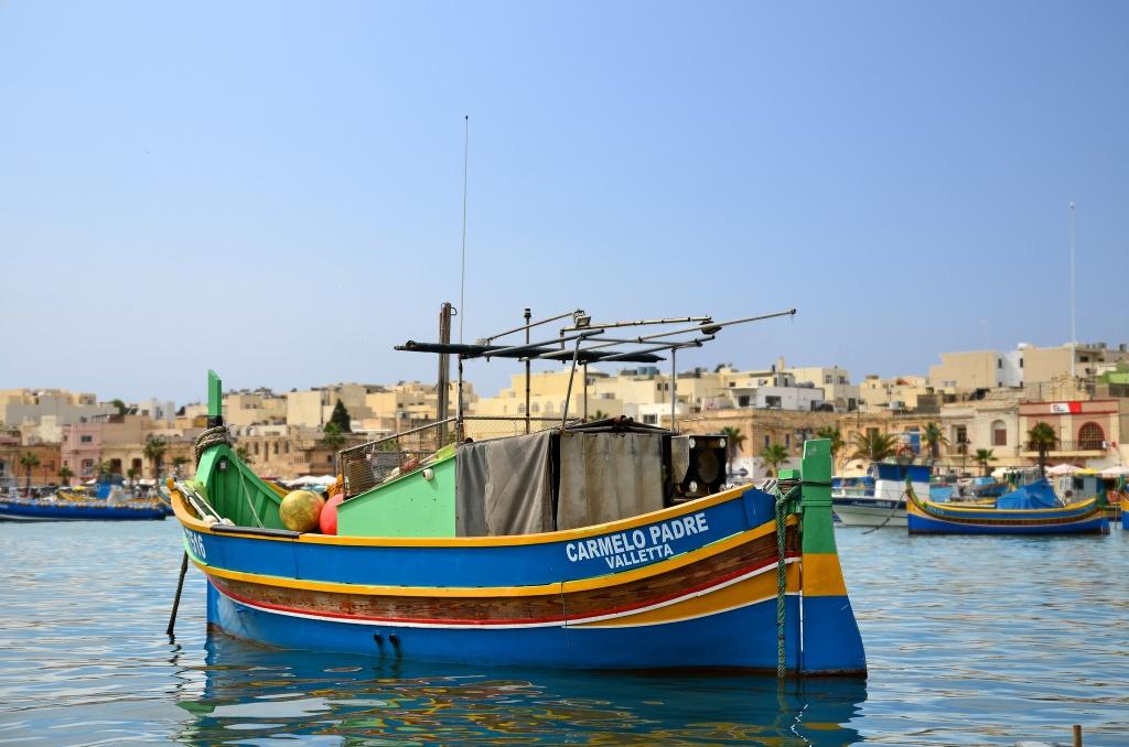 ilha de malta marsaxlokk andrea santoni