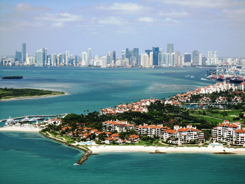 miami & fisher island Mohmed Althani flickr