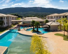 santíssimo resort vista para serra