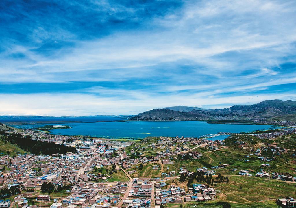Lago Titicaca  ISTOCK