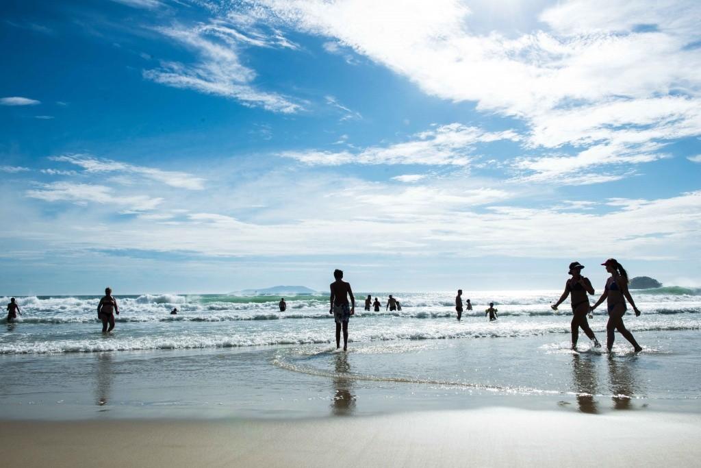 Praia de Palmas SC - Crédito Divulgação