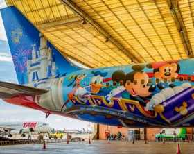 Ação Disney e TAM 1 - baixa