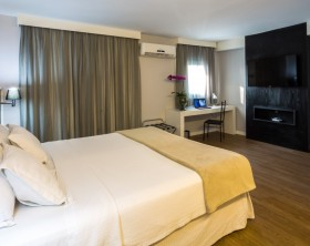 WZ Hotel Jardins quarto