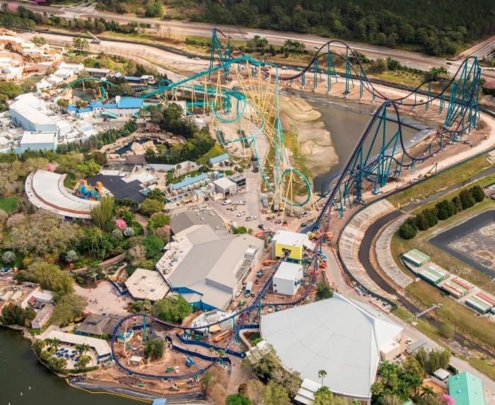 Mako Roller Coaster SeaWorld 1