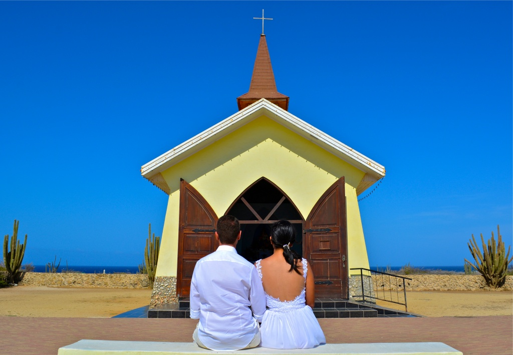 Casamento na Capela Alto Vista em Aruba 2 - Credito ATA