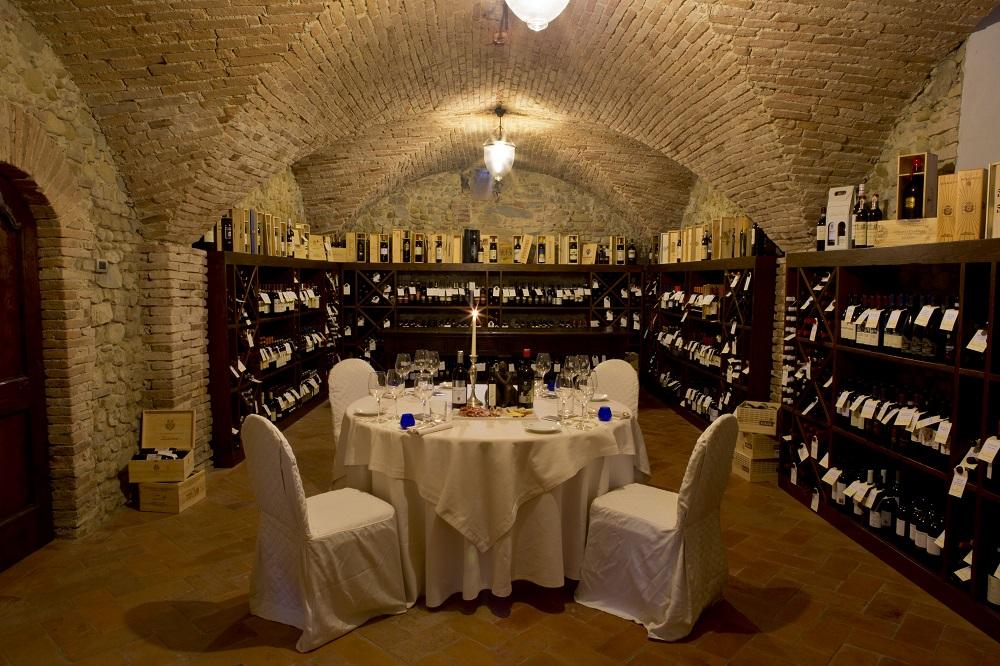 Castello del Nero - Jantar na Adega P