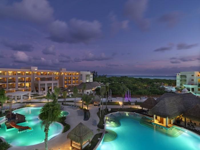 Paradisus Playa del Carmen La Esmeralda - Foto aerea