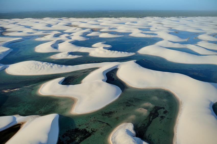 Parque Nacional dos Lençóis Maranhenses  Foto por: Dolphinphoto_IStock