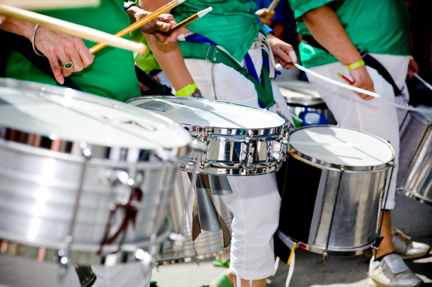Scenes of Samba Festival in Coburg, Germany