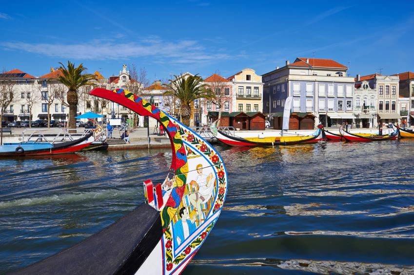 Aveiro gondola in Portugal