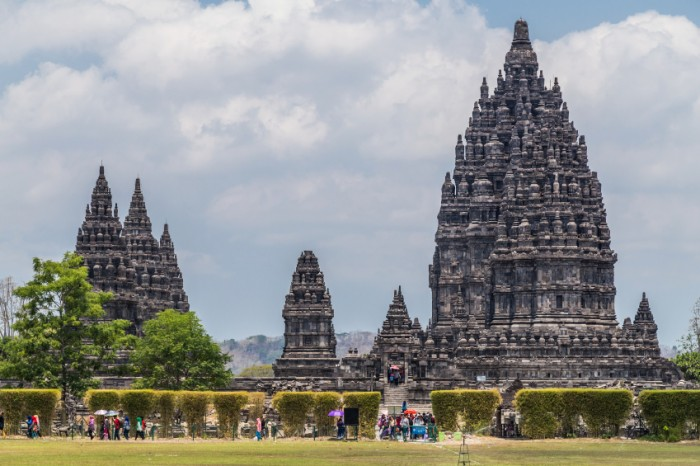 Candi Rara Jonggrang, part of Prambanan Hindu temple, Indonesia
