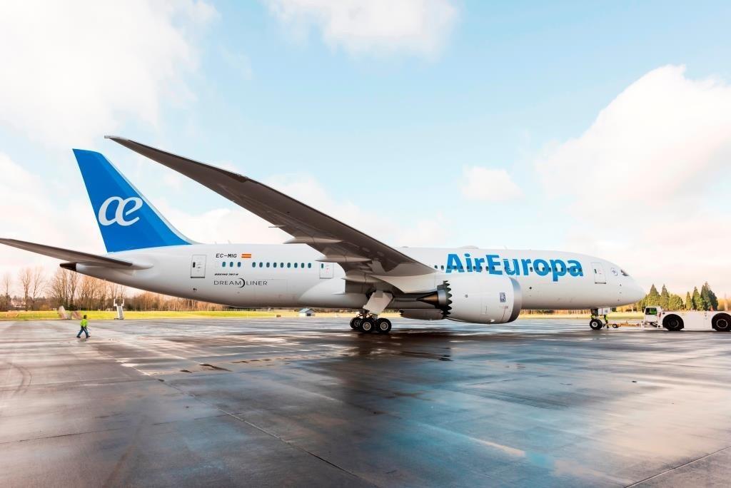 Resultado de imagem para internet a bordo Air europa