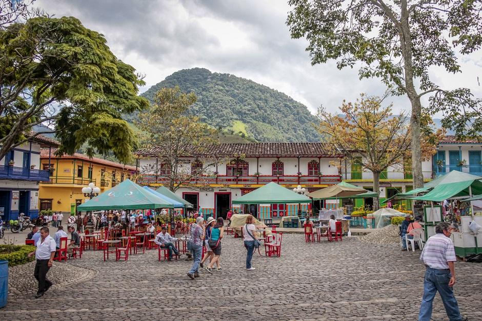 viagem para a Colômbia
