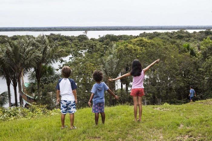 Foto Thais Antunes_Crianças na Amazônia