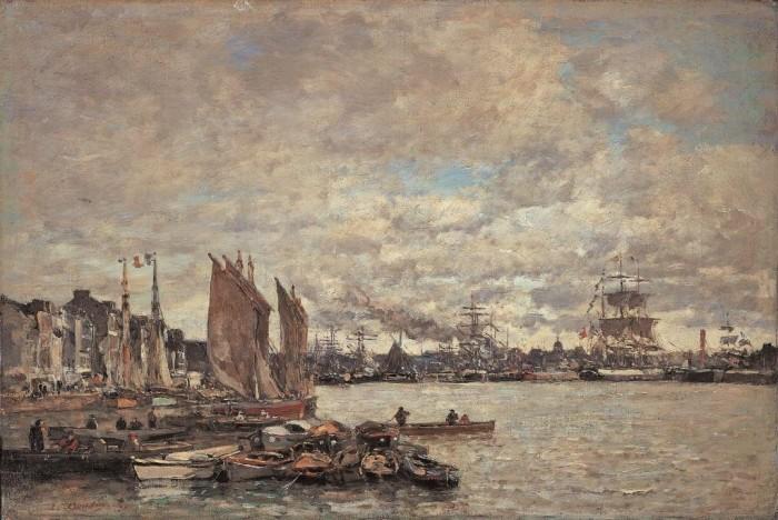 Le Havre, vers 1896, Liberec Oblastni Galerie v Libereci - © Oblastní galerie Liberec