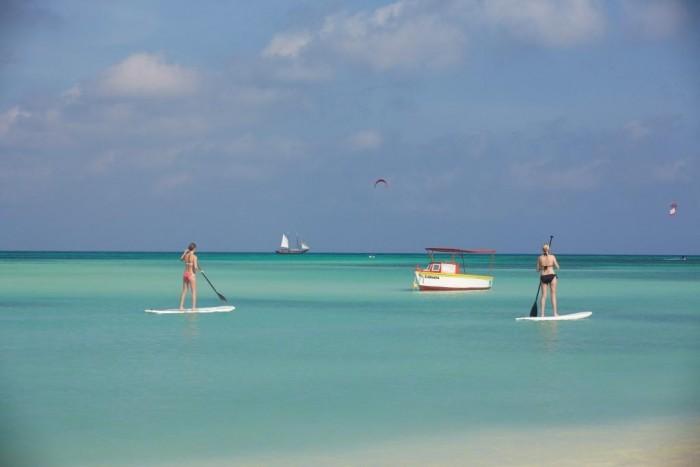 SUP em Aruba - Credito ATA