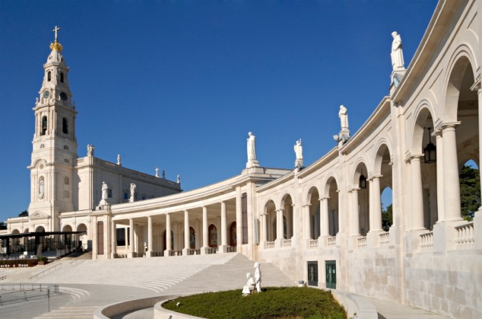 Fatima, Portugal.  Famous religious place in Portugal. Iteresting point of view in Lisbon, Portugal.