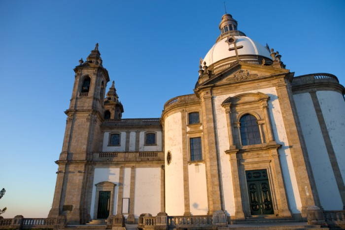 Church of Sameiro Braga, in the north of Portugal