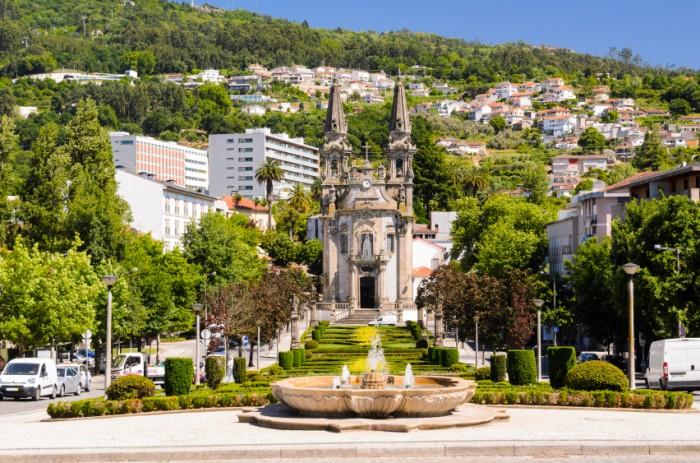 church Igreja de Nossa Senhora da Oliveira, Guimaraes, Portugal