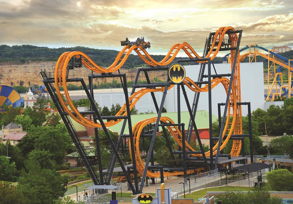 Six Flags - Batman