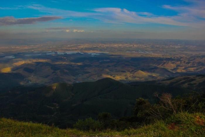 Vista em 360º do Pico Agudo