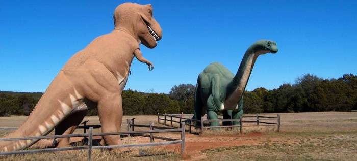dinosaur state park 3 - crédito TPWD