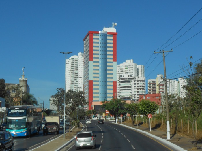 Cuiaba, Brazil - June 18, 2014: The city of Cuiaba is the major tourist destination in the Mato Grosso region of Brazil