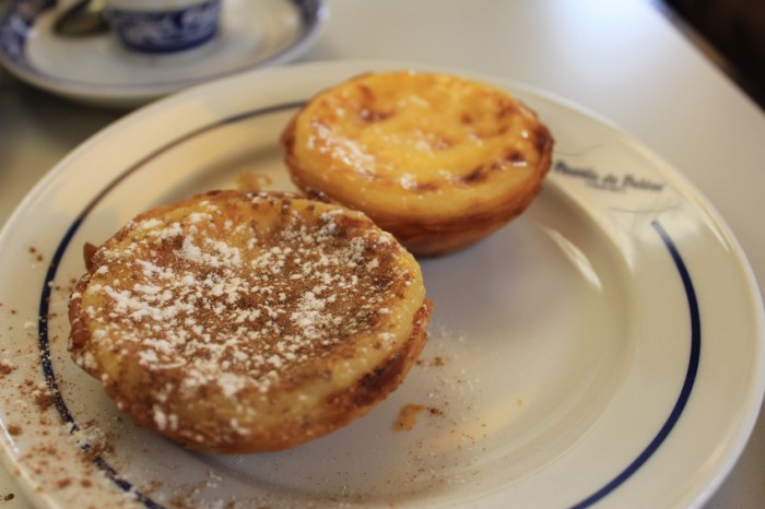 Pastéis de Belém Doce típico de Lisboa, Portigal
