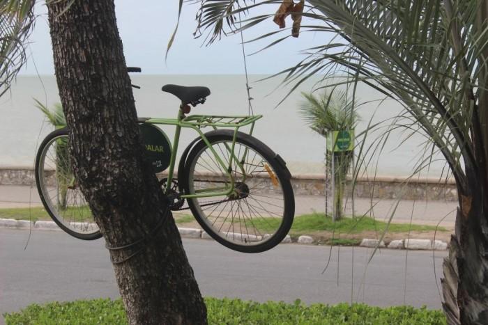 Bicicleta, para uso dos hóspedes
