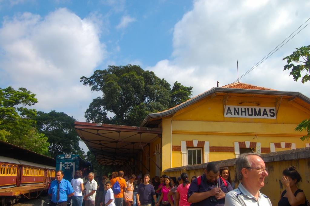 Estação de Anhumas - Foto Andressa Volpini