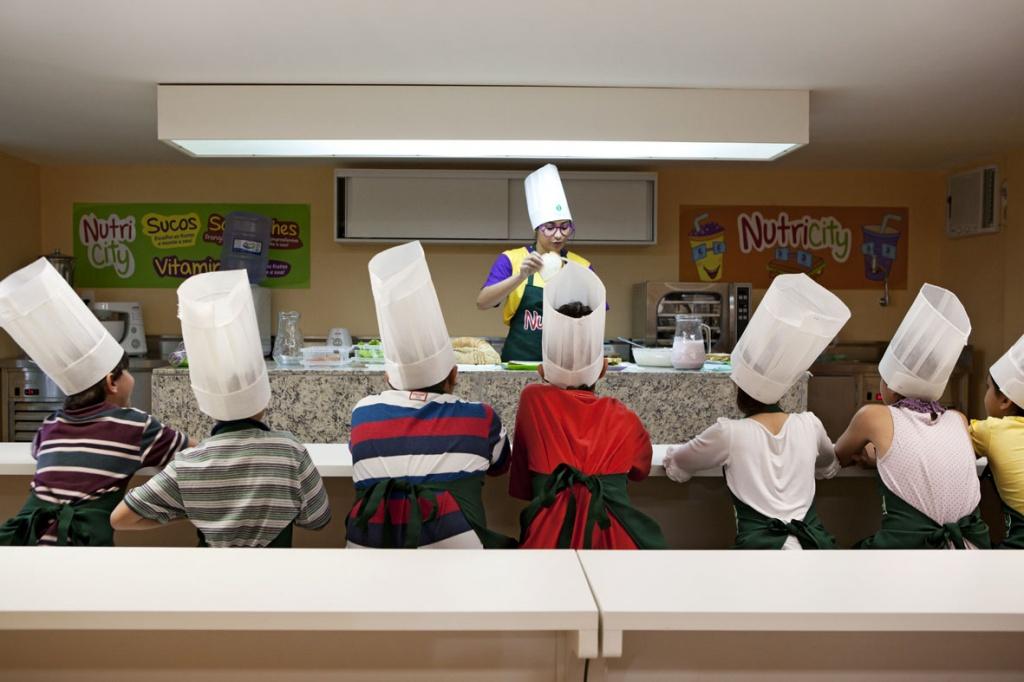 Cozinha experimental da Nutry-City