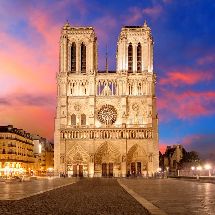 Catedral de Notre-Dame - Marco Zero de Paris.