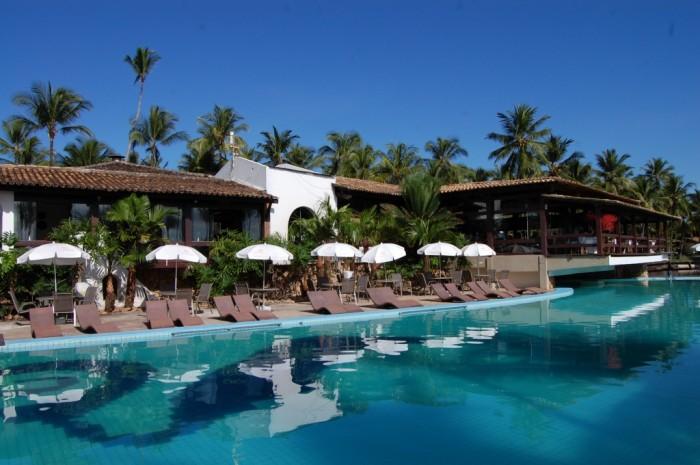 cana brava resort - restaurante e piscina