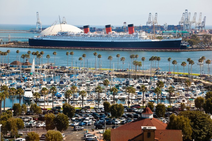 """""""Long Beach, USA - July 30, 2011: Thousands of cars and boats arrive at the Crawfish Festival. For over 18 years the Crawfish Festival has become a tradition to over thousands of festival goers annually."""""""