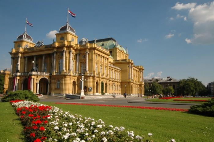 the art pavillion in zagreb croatia across from mimara museum